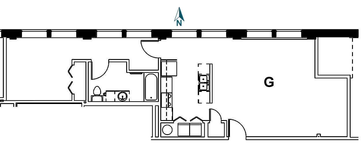 Palace Apt 8G Floor Plan