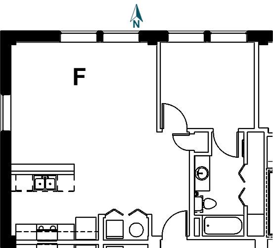Palace Apt 9F Floor Plan