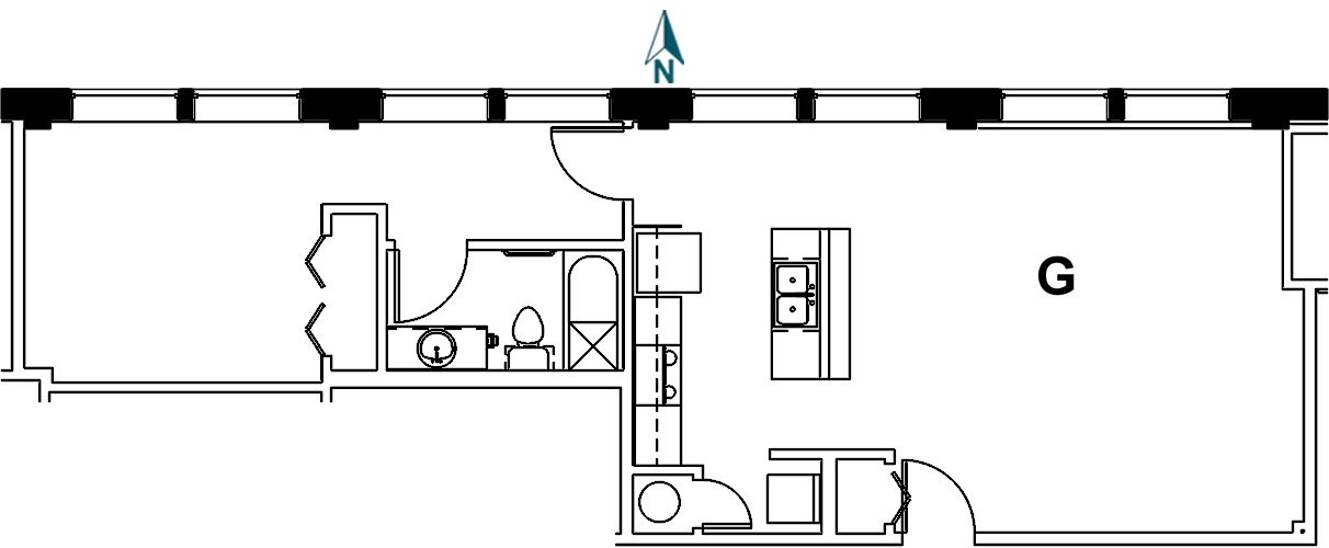 Palace Apt 9G Floor Plan