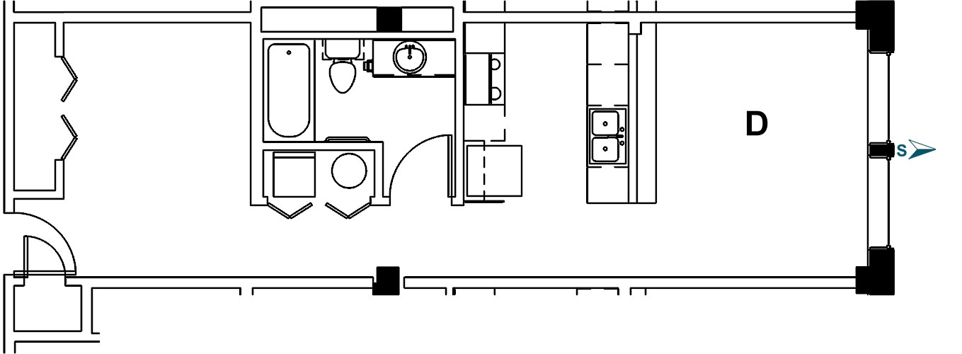Palace Apt 7D Floor Plan